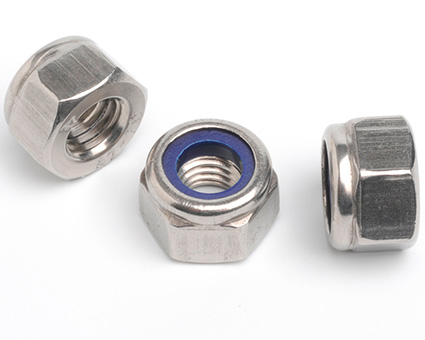 Stainless Steel Nylon Insert Nuts High Type