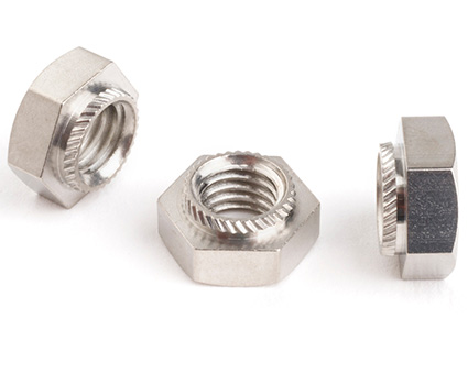 Stainless Steel Hexagon Insert Press Nuts