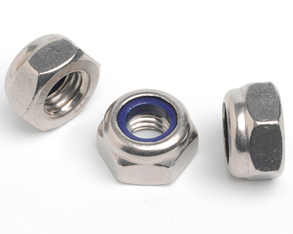 Stainless Steel Fine Pitch Nylon Insert Nuts