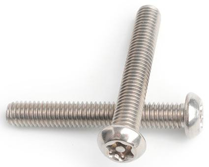 Stainless Steel Pin TX Button Screws