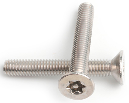 Stainless Steel Pin TX Countersunk Screws