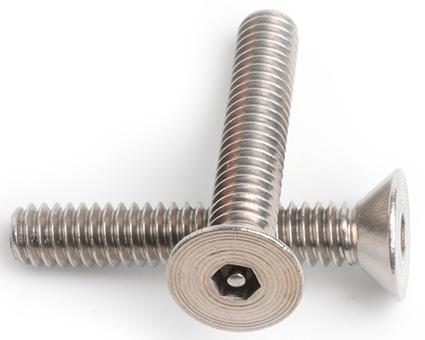 Stainless Steel Pin Hex Countersunk Screws