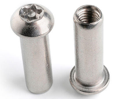 Stainless Steel Pin TX Barrel Nuts