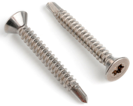 Stainless Steel TX Countersunk Self Drilling