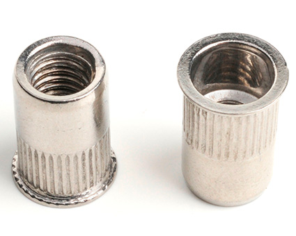 Stainless Steel Reduced Csk Knurled Insert Nut
