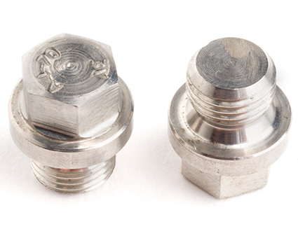 Stainless Steel Hexagon Head Pipe Plugs