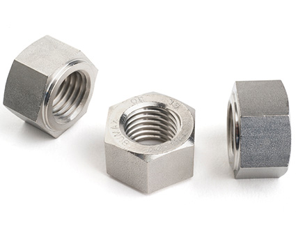 Stainless Steel All Metal Self Locking Collared Nut
