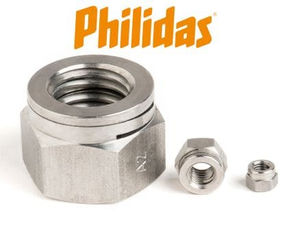 Stainless Steel Turret Nuts